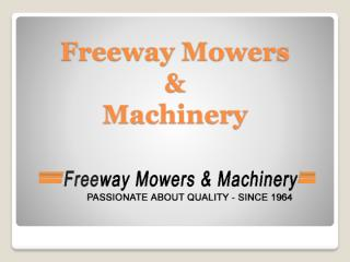 Effective lawn mowers products at freeway mowers.pdf