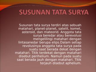 SUSUNAN TATA SURYA.ppt