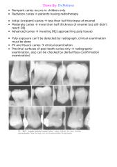 11)Interpertation of Dental Caries Notes and Pics.doc