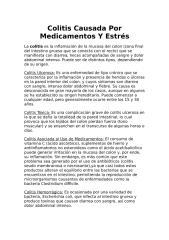 Colitis Causada Por Medicamentos Y Estrés.docx
