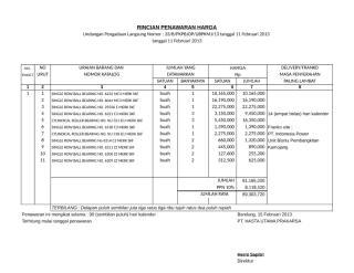Copy of LAMPIRAN HARGA 11 ITEM.xls