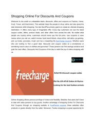 Shopping Online For Discounts And Coupons.pdf