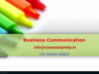 Prepare a survey questionnaire of any company of your choice.ppt